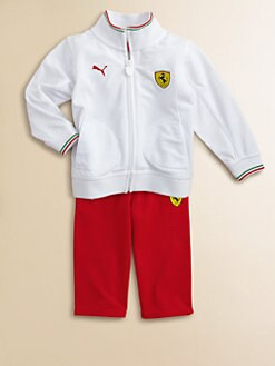 PUMA Ferrari - Infant's Track Jacket and Pants Set