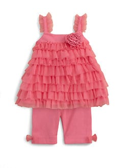 Miniclasix - Infant's Tiered Top and Leggings Set
