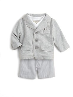 Miniclasix - Infant's Blazer, Tee and Shorts Set