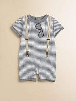 Miniclasix - Infant's Striped Romper