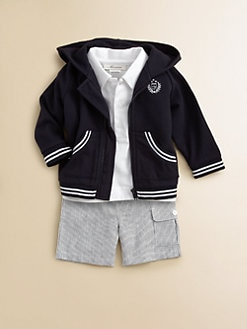 Miniclasix - Infant's Hoodie, Shirt and Shorts Set