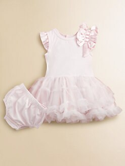 Miniclasix - Infant's Knit Tutu Dress and Bloomer Set