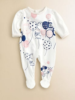 Little Marc Jacobs - Infant's Printed Footie