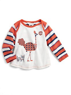 Little Marc Jacobs - Infant's Striped Jersey Tee