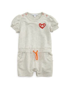 Little Marc Jacobs - Infant's Fleece Logo Romper