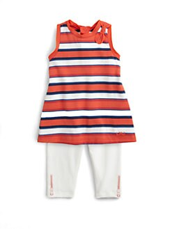 Little Marc Jacobs - Infant's Two-Piece Striped Tunic & Leggings Set
