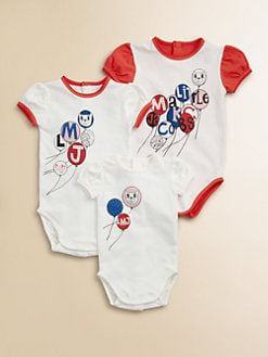 Little Marc Jacobs - Infant's Three-Size Bodysuit Set
