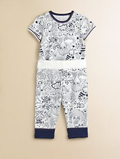 Little Marc Jacobs - Infant's LMJ Printed Shortall