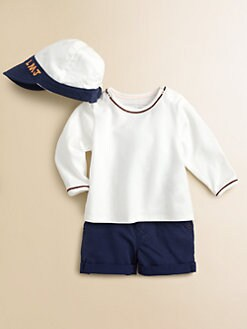 Little Marc Jacobs - Infant's Two-Piece Tee & Cap Set