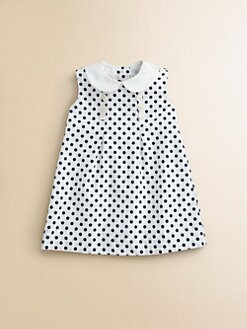 Baby CZ - Infant's Polka Dot Dress