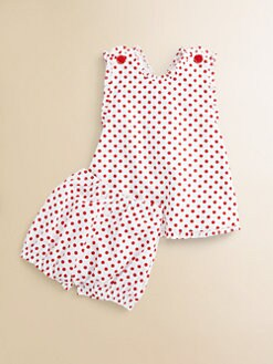 Baby CZ - Infant's Ruffled Sundress & Bloomers Set