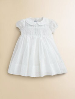 Baby CZ - Infant's Floral Smocked Dress & Bloomer Set