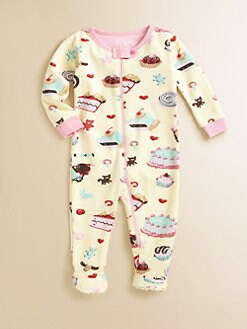 Hatley - Infant's Cake & Candy Footed Coverall