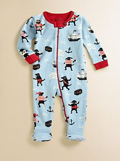 Hatley - Infant's Pirate-Dogs Footed Coverall