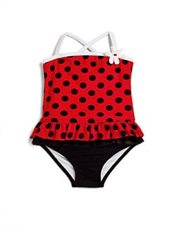 Love U Lots - Infant's Dotted Tankini