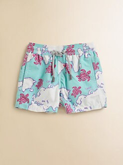 Vilebrequin - Infant's World Map Swim Trunks