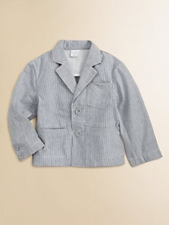 Egg Baby - Infant's Seersucker Blazer