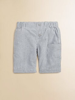Egg Baby - Infant's Seersucker Shorts