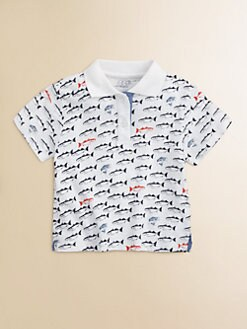 Egg Baby - Infant's Fish Print Polo