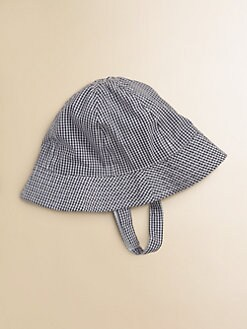 Egg Baby - Infant's Gingham Sun Hat