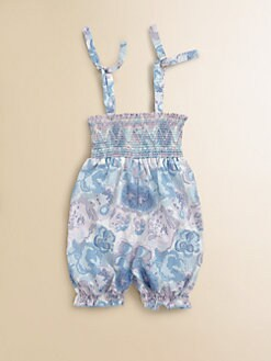 Egg Baby - Infant's Smocked Romper
