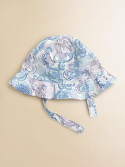 Egg Baby - Infant's Floral Sun Hat