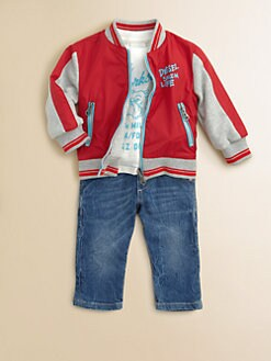 Diesel - Infant's Reversible Nylon Jacket