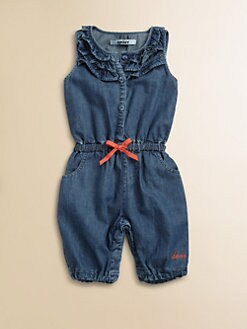 DKNY - Infant's Denim Romper