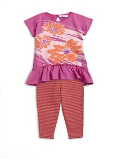DKNY - Infant's Daisy Tunic and Legging Set
