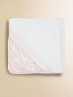Dior - Infant's Puericulture Floral Hooded Terry Towel
