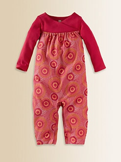 Tea Collection - Infant's Elim Wrap-Neck Romper