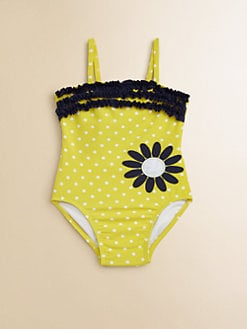 Hartstrings - Infant's One-Piece Polka Dot Swimsuit