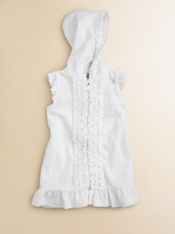 Hartstrings - Infant's Ruffled Terry Coverup Dress