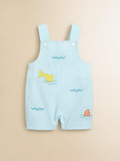 Florence Eiseman - Infant's Seersucker Shortall