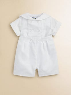 Florence Eiseman - Infant's Button-On Shirt and Shorts Set