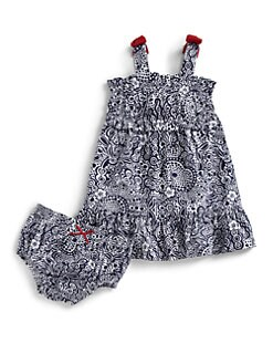 Hartstrings - Infant's Floral Dress & Bloomers Set