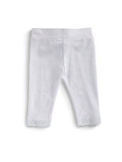 Hartstrings - Infant's Lace-Trimmed Knit Leggings