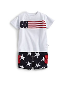 Hartstrings - Infant's Cotton Flag Tee