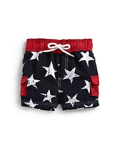 Hartstrings - Infant's Stars Swim Trunks