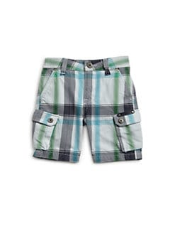Diesel - Infant's Plaid Shorts