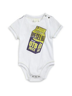 Diesel - Infant's Juice Carton Bodysuit