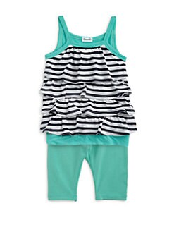 Splendid - Infant's Two-Piece Striped Tunic & Leggings Set