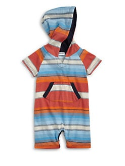 Splendid - Infant's Striped Hoodie Playsuit