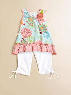 Love U Lots - Infant's Ruffled Tunic