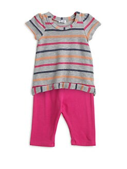 Splendid - Infant's Two-Piece Striped Hi-Lo Tunic & Leggings Sets