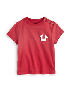 True Religion - Infant's Logo Snap Tee