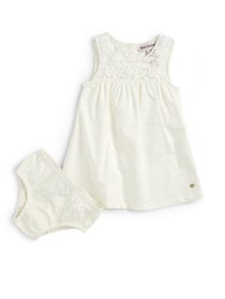 Juicy Couture - Infant's Embroidered Dress & Bloomers Set