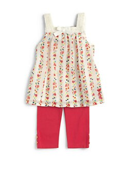 Juicy Couture - Infant's Two-Piece Floral Tunic & Leggings Set