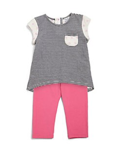 Splendid - Infant's Mix Stripe Tunic & Leggings Set