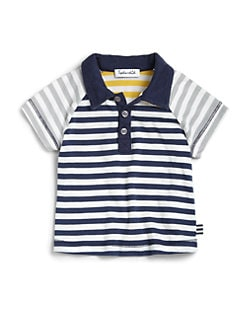 Splendid - Infant's Mix Stripe Polo Shirt